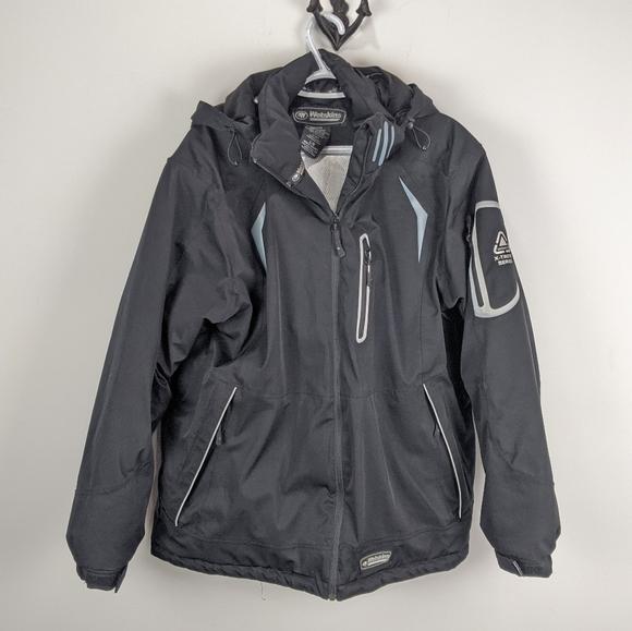 Wetskins Men's Large Winter Jacket Black